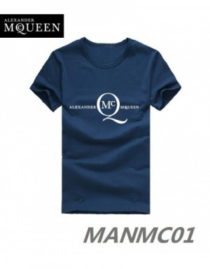 Alexander McQueen T-Shirts Short Sleeved In 319120 For Men