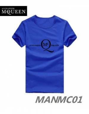 Alexander McQueen T-Shirts Short Sleeved In 319121 For Men