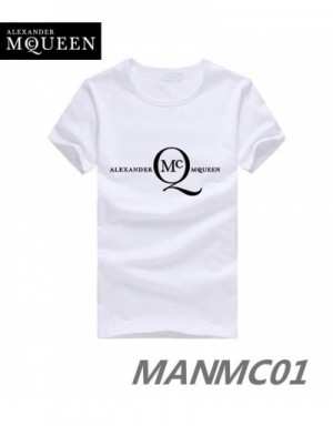 Alexander McQueen T-Shirts Short Sleeved In 324426 For Men