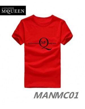 Alexander McQueen T-Shirts Short Sleeved In 324428 For Men
