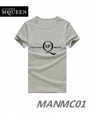 Alexander McQueen T-Shirts Short Sleeved In 324431 For Men