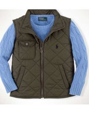 Ralph Lauren Polo Down Vest Sleeveless In 332647 For Men