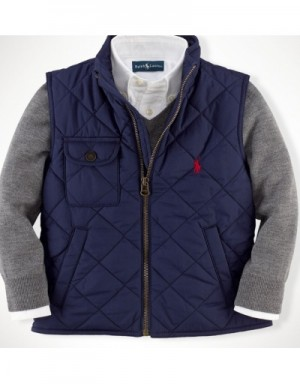 Ralph Lauren Polo Down Vest Sleeveless In 332648 For Men