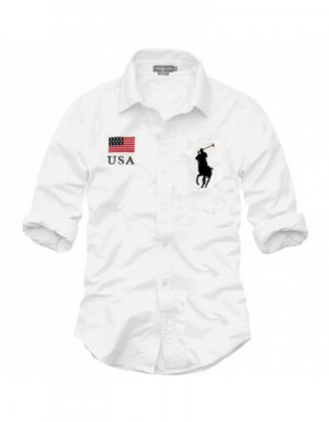 Ralph Lauren Polo Shirts Long Sleeved In 363788 For Men