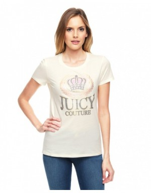 Juicy Couture T-Shirts Short Sleeved In 373319 For Women