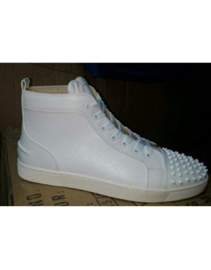 Christian Louboutin CL High Tops Shoes In 408138 For Women