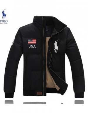 Ralph Lauren Polo Down Feather Coats Long Sleeved In 414366 For Men