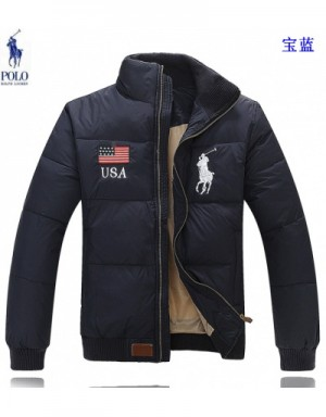 Ralph Lauren Polo Down Feather Coats Long Sleeved In 414367 For Men
