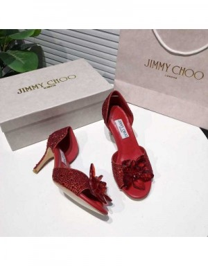 Jimmy Choo High-Heeled Shoes For Women #721015
