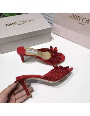 Jimmy Choo High-Heeled Shoes For Women #721018