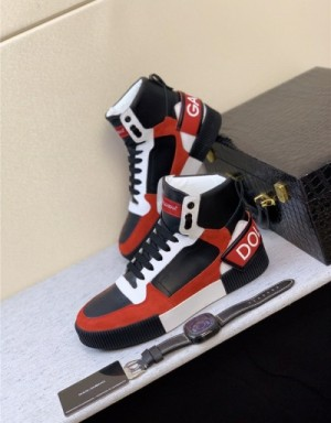 Dolce & Gabbana D&G High Tops Shoes For Men #734112