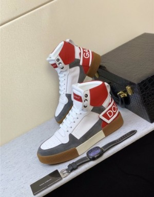 Dolce & Gabbana D&G High Tops Shoes For Men #735075