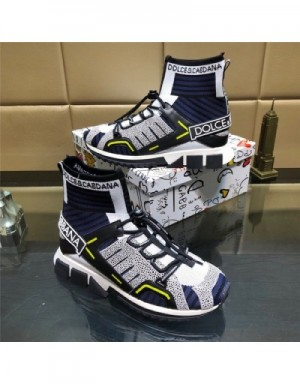 Dolce & Gabbana D&G High Tops Shoes For Men #735363