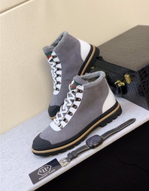 Philipp Plein PP Boots For Men #737077
