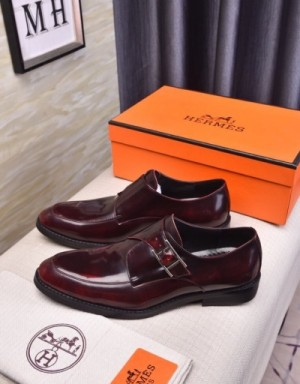Hermes Leather Shoes For Men #744032