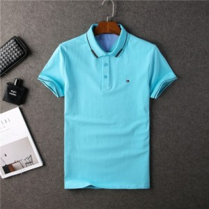 Tommy Hilfiger TH T-Shirts Short Sleeved Polo For Men #755236