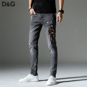 Dolce & Gabbana D&G Jeans Trousers For Men #757219