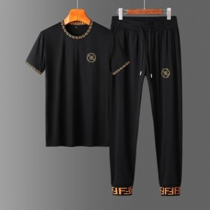 Fendi Tracksuits Short Sleeved O-Neck For Men #758681