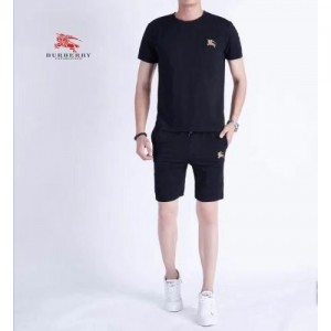 Burberry Tracksuits Short Sleeved O-Neck For Men #760079