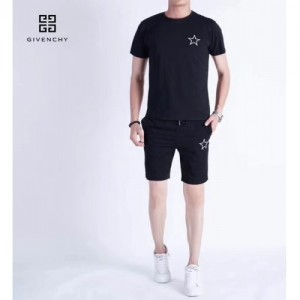 Givenchy Tracksuits Short Sleeved O-Neck For Men #760082