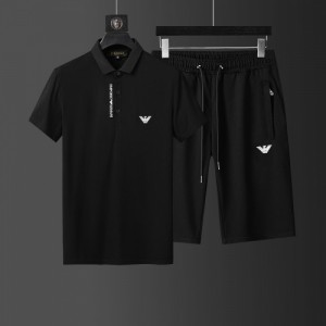 Armani Tracksuits Short Sleeved Polo For Men #760956