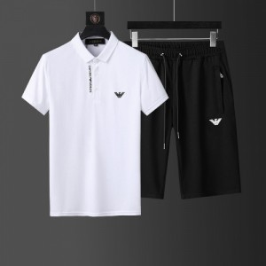 Armani Tracksuits Short Sleeved Polo For Men #760957