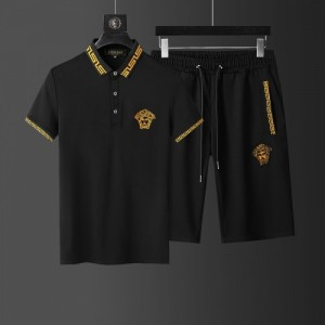 Versace Tracksuits Short Sleeved Polo For Men #760958