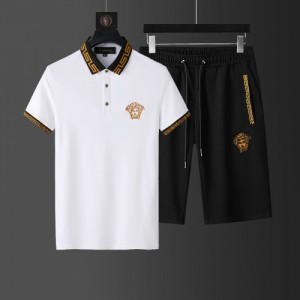 Versace Tracksuits Short Sleeved Polo For Men #760959