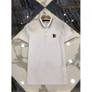 Burberry T-Shirts Short Sleeved Polo For Men #761212