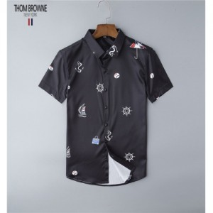 Thom Browne TB Shirts Short Sleeved Polo For Men #761438