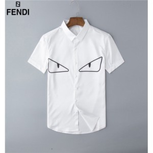 Fendi Shirts Short Sleeved Polo For Men #761441