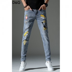 Dolce & Gabbana D&G Jeans Trousers For Men #761485