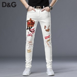 Dolce & Gabbana D&G Jeans Trousers For Men #761486