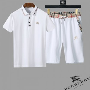 Burberry Tracksuits Short Sleeved Polo For Men #761853