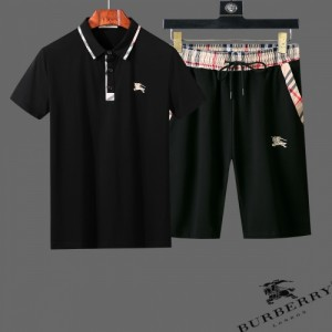 Burberry Tracksuits Short Sleeved Polo For Men #761854