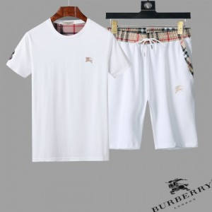 Burberry Tracksuits Short Sleeved O-Neck For Men #761856