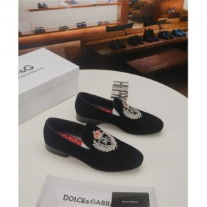 Dolce & Gabbana D&G Leather Shoes For Men #761944