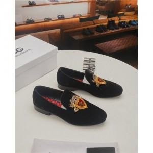 Dolce & Gabbana D&G Leather Shoes For Men #761945
