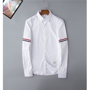 Thom Browne TB Shirts Long Sleeved Polo For Men #762347