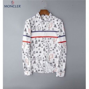 Moncler Shirts Long Sleeved Polo For Men #762361