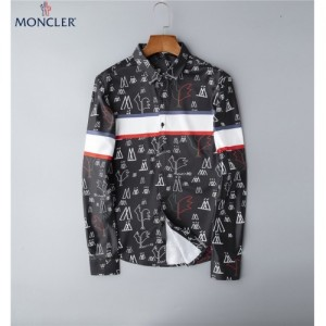 Moncler Shirts Long Sleeved Polo For Men #762362