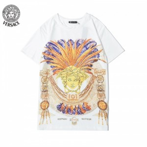 Versace T-Shirts Short Sleeved O-Neck For Men #763147