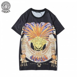 Versace T-Shirts Short Sleeved O-Neck For Men #763148