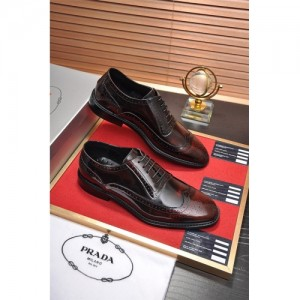 Prada Leather Shoes For Men #763602