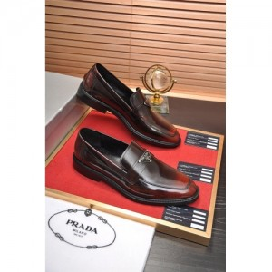 Prada Leather Shoes For Men #763606