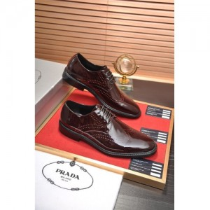 Prada Leather Shoes For Men #763608