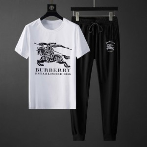 Burberry Tracksuits Short Sleeved O-Neck For Men #764808
