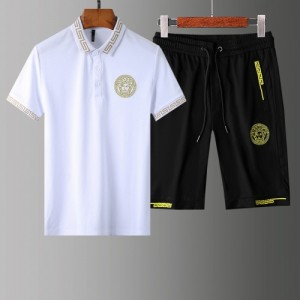 Versace Tracksuits Short Sleeved Polo For Men #765373