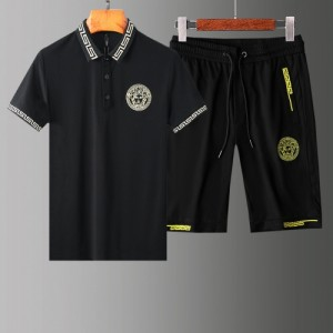 Versace Tracksuits Short Sleeved Polo For Men #765374