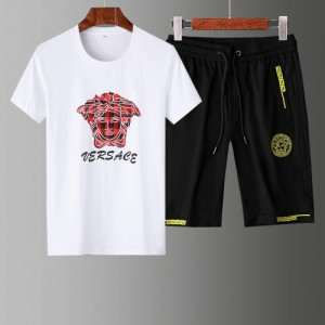 Versace Tracksuits Short Sleeved Polo For Men #765399